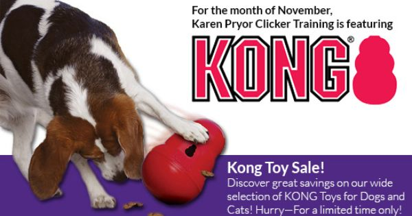Sales Specials On Training Products Clickertraining Com Toy Sale Kong Toys Dog Toys