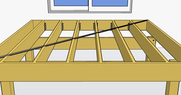 Sway Bracing Building A Deck Deck Designs Backyard Deck
