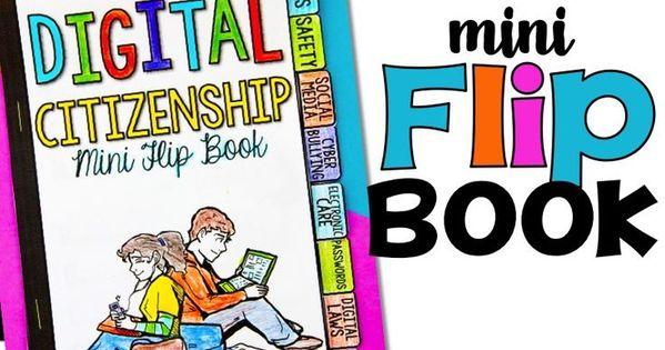 Digital Citizenship Mini Flip Book Digital Citizenship