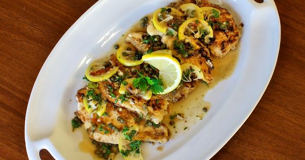 Chicken Picatta - it's easier than you think. From @Susan Caron |
