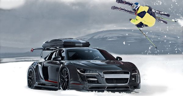 Jon Olsson knows how to get to the mtn in style:)