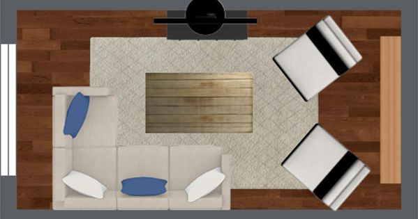 4 Furniture Layout Floor Plans For A Small Apartment Living Room Furniture Layout Apartment