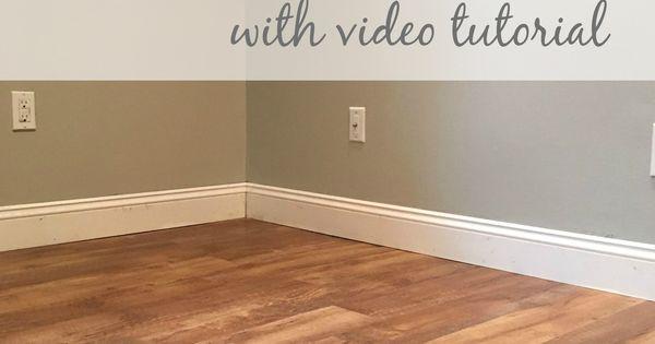 Allure GripStrip, Easiest DIY Flooring EVER | Pinterest | Posts, It is ...