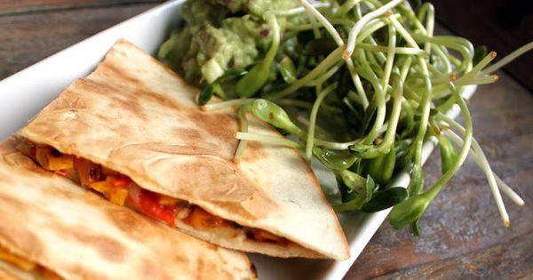 Quesadilla with corn salsa - Quesadillas med maissalsa | Snacks ...