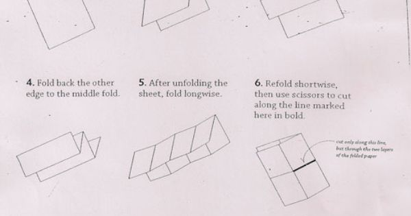 how to make a book out of paper origami
