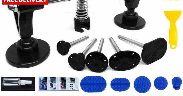 Ebay Advertisement Manelord Auto Body Repair Kit Car Dent Puller With Double Pole Bridge Dent Pull Petunjuk