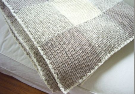 Knitting Pattern Garter Stitch Afghan : Beautiful blanket to knit - Cozy Things Knit Love ...