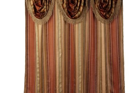 Popular Bath Contempo Spice with Attached Valance Fabric ...