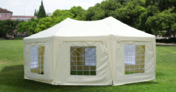 Octagonal Gazebo Sizes Include 3x4 1m 4x5 5m 5x6 8m Leg And Eave Pole 38x1mm Slant Pole 32 X 1mm Connectors 42 X 1 5 Gazebo Wicker Dining Set Pvc Windows
