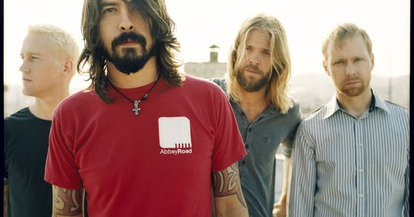 Foo Fighters...sold Dave Grohl stuff at KHK. Saw their last performance (for