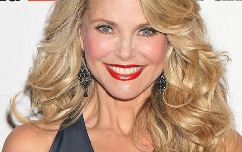 Christie Brinkley Long Wavy Formal Hairstyle | Christie brinkley, Long wavy hairstyles and ...