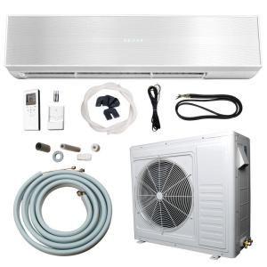 Ramsond 24 000 Btu 2 Ton Ductless Mini Split Air Conditioner And Heat Pump 220v X2f 60hz 74gw2 At The Home Dep Ductless Mini Split Ductless Heat Pump System