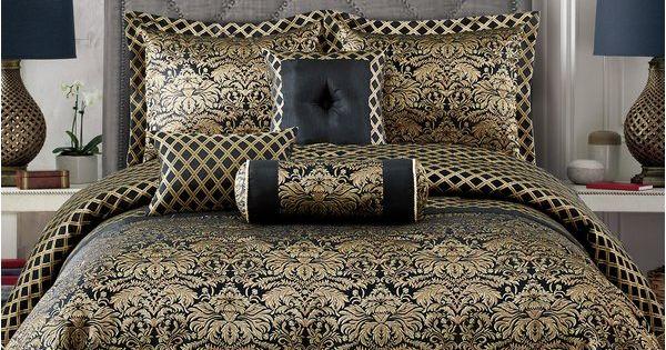 Duvet set Empire black choice of sizes single double king size