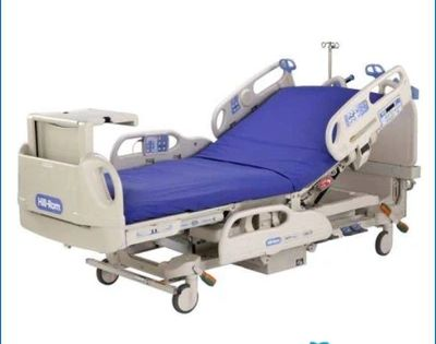 The Hill Rom Versacare Hospital Bed Used Condition In 2020 Hospital Bed Low Bed Bed