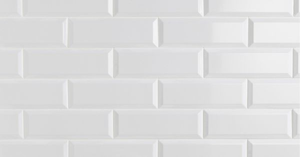 Carrelage mural plaquetas en fa ence blanc 10 x 30 cm for Cerabati carrelage