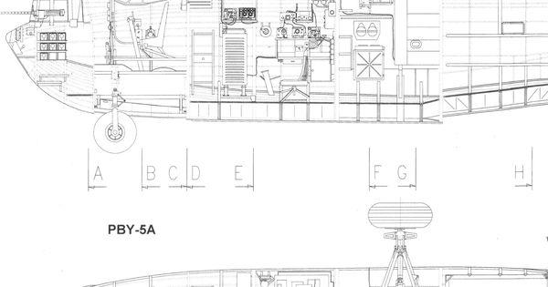 Consolidated Pby Catalina Blueprint