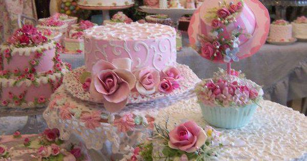 Tea Party Cakes - beautiful cakes