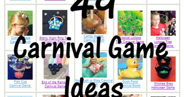 Carnival Game and Booth Ideas - Cola Ring Toss- Economic Carnival ideas.