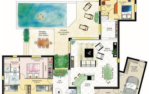 Maison fonctionnelle 1 for Meilleur constructeur maison