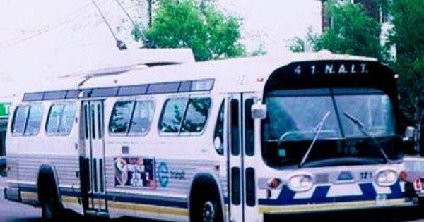 Gmc Trolley Bus Fishbowl Edmonton Ca Autobus