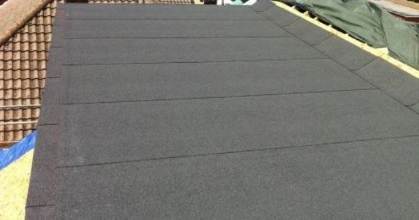 Average Cost Price To Replace A Flat Roof Flat Roof Roof Roofing Felt