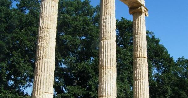 OLYMPIA, GREECE. I love the summer Olympics and never miss them (especially