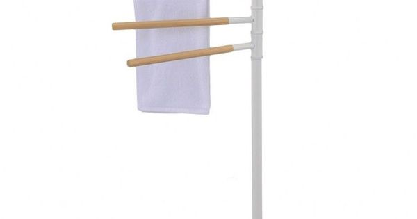 Luxurious Contemporary Towel Stand Standing Bath Drying Rack Floor Bathroom Standing Bath