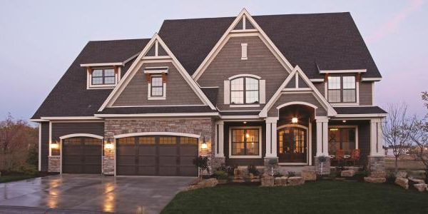 New Home Exterior Color Schemes Two Tone Exteriors Parade Of Homes For The Home