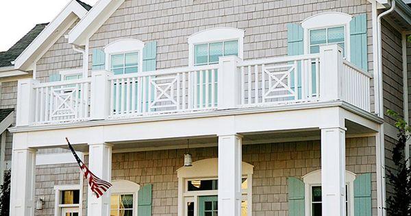 Beach house, exterior color idea