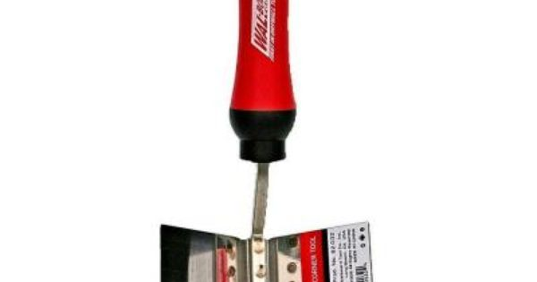 Wal Board Tools 4 In X 3 5 In Inside Corner Tool 82 032 The Home Depot Tools Tool Design Drywall Mud