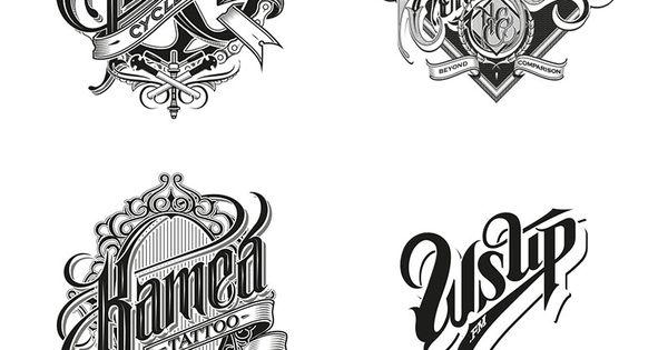 HAND DRAWN? Good god, I'm talentless. lol | Hand-drawn logotypes, marks, and