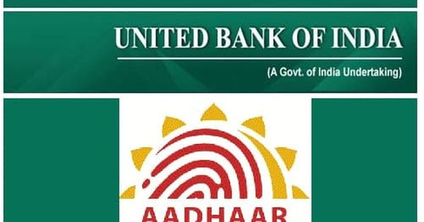 Link Aadhaar With United Bank Of India Bank Of India The Unit Online Accounting