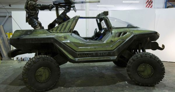 Real Life Halo Vehicles: Halo Warthog In REAL LIFE! (and Other Awesome Video Game