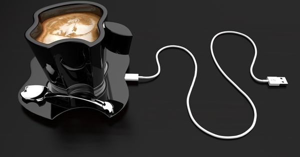 Apple icup office coffee cup concept design by tomislav for Apple icup