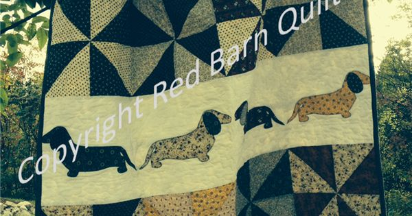 Paper Pieced Dachshund Quilt Google Search Quilting