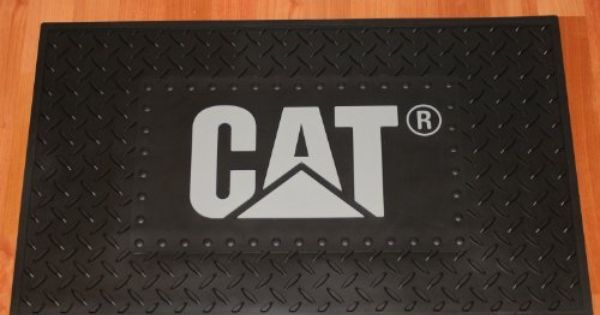 Caterpillar Cat Molded Floor And Countertop Mat By Bda 59 99 Outdoor Gardens Outdoor Decor Flooring