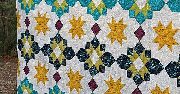 Freshly Pieced Modern Quilts: Another New Pattern: Moroccan Lanterns crafts Pinterest ...