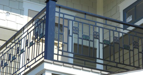 Frank Lloyd Wright Style Railing Dream House Items