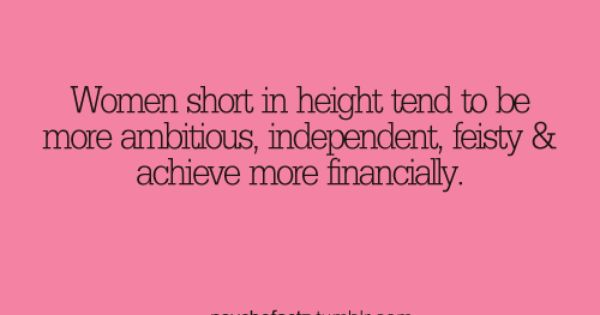 yay short people... SO true!