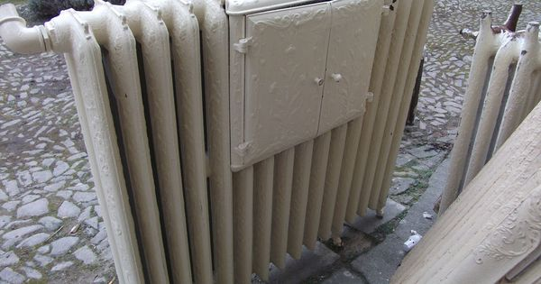 alter antiker nostalgie jugendstil heizk rper radiator mit. Black Bedroom Furniture Sets. Home Design Ideas