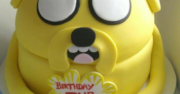 adventure time birthday cake