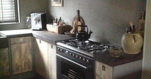 Muren en schouw kleur als carte colori wooninspiratie pinterest kleur keuken en keukens - Keuken kleur idee ...