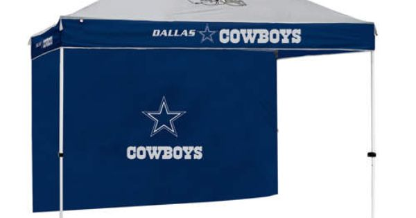 Dallas Cowboys Nfl Gazebo W Side Wall 10 X10 Canopy