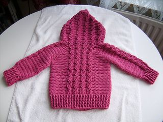 Hooded Cable Sweater Cable Sweater Pattern Baby Sweater Knitting Pattern Baby Knitting