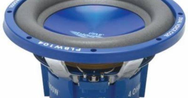 Pyle Plbw124 1200 Watt 12 Dual 4 Ohm Voice Coil Subwoofer Each By Pyle 46 56 Description Pyle S Blue Wave Series Speakers D Subwoofer Blue Waves Car Audio