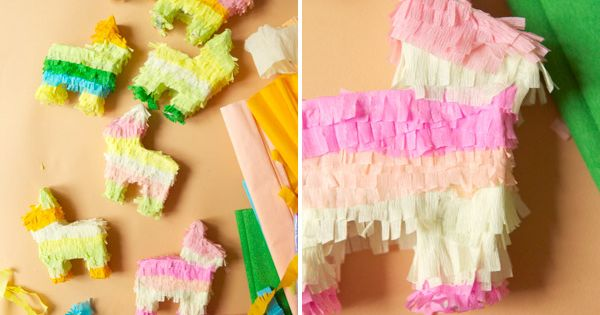 Mini pinatas DIY- Cinco de Mayo?