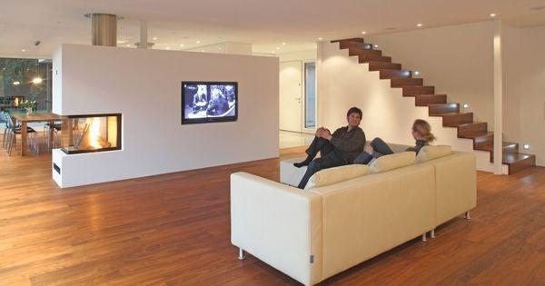 kamin tv wohnen pinterest wohnzimmer hausbau und inneneinrichtung. Black Bedroom Furniture Sets. Home Design Ideas