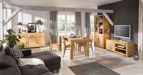 Home Affaire Ecksofa Luzern Mit Recamiere Mit Verstellbarer Kopfstutze Und Holzfussen Online Kaufen Rustikales Design Haus Deko Wohnen