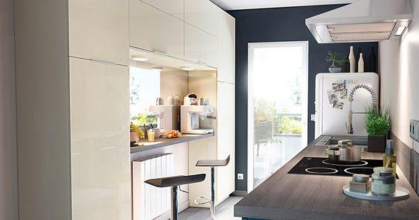 meuble de cuisine gossip sable et bleu castorama kitchens pinterest cuisine and kitchens. Black Bedroom Furniture Sets. Home Design Ideas