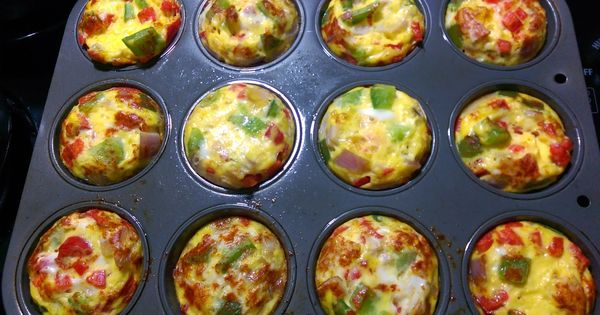 Mini Vegetable Egg Cups From The 21 Day Fix Extreme Eating